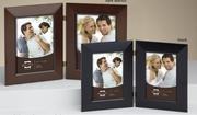 Double Picture Frame Wood 4 x 6