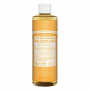 Dr Bronner's Magic Soaps 18-in-1 Hemp Pure Castile Soaps Citrus Orange  16 fl oz