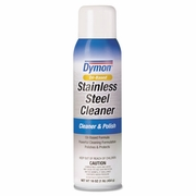 Dymon Stainless Steel Cleaner and Polish   20oz aerosol