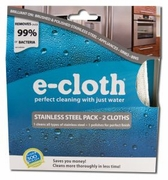 e-cloth® Stainless Steel Cleaning Pack