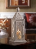 "Eclipse Candle Lantern 12-1/2""h"