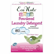 Eco Nuts Laundry Baby Powder Laundry Detergent 96 oz. (160 loads)