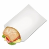 EcoCraft® PB25 Grease Resistant Sandwich, Hot Dog, or Sub Bag White  2000/box