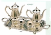 Elegance® Silverplate Ashley 5pc Coffee and Tea Set