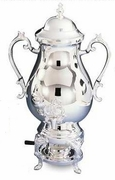 Elegance  Sliverplated Coffee Urn 50 Cup