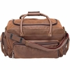 """Embassy™ 24"""" Brown Faux Leather Tote Bag"""