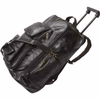 "Embassy Backpack Cart Italian Stone  Design Genuine Leather 19""  FREE SHIPPING"