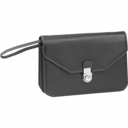 Embassy  Expandable Faux Leather Clutch Purse