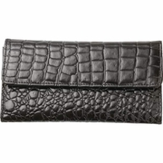 Embassy� Faux Alligator Embossed  Ladies' Wallet
