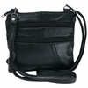 Embassy™ Genuine Leather Purse 2 Interior 2 Exterior Compartments