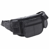 Embassy™ Large Genuine Leather Waist Bag