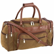 "Embassy� Travel Gear 17"" Faux Leather Tote Bag"