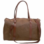 "Embassy Travel Gear Faux Leather 21"" Tote Bag"