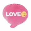 Emoji Bubble Word Love Throw Pillow  14""