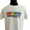 Equality Rainbow Birds Tee Shirt Plus Size