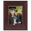 Executive Document  Photo Frame, Desk  Wall Mount,  5 x 7, Mahogany Finish