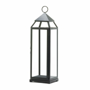 "Extra Tall Black Contemporary Candle Lantern 25""h  FREE SHIPPING"