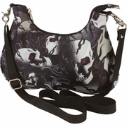 "Extreme Pak� 12"" Ladies' Convertible Purse Skull Designs"