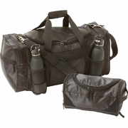 "Extreme Pak  2pc Gym Bag 22"", Toiletry Bag Set"