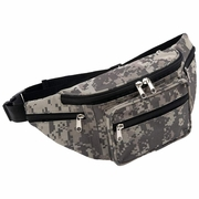 Extreme Pak Digital Camouflage Water-Repellent Waist Bag