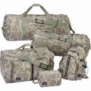 Extreme Pak™ Digital Camouflage  Water-Resistant 5pc Luggage Set