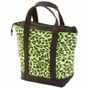 Extreme Pak™ Neon Green Leopard Print Lunch Cooler Bag