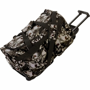 "Extreme Pak  Red-Eye Skull Camouflage  Water-Resistant 21"" Trolley Bag"