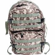 ExtremePak Heavy-Duty Water Resistant Digital Camo Army Backpack FREE SHPPING