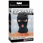 Fetish Fantasy Home Invasion Full Head Hood with Eyes and Mouth Openings