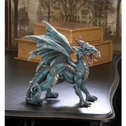 Fierce Dragon Statue