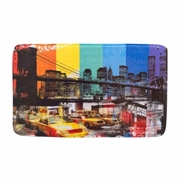 Floor Mat Brooklyn Bridge 29 x 17 Padded Foam