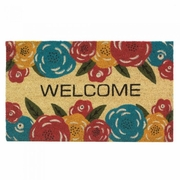 Welcome Mat / Doormat Floral Pattern