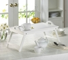 Folding Serving Tray White