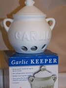 Garlic Keeper Unglazed Ceramic