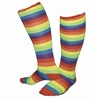 Gay Pride Rainbow Over the Knee Socks