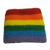 Gay Pride Rainbow Wrist Sweatband