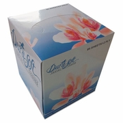 Gen Paper Goods Facial Tissue Cube Box, 2-PLY, WHITE, 85 SHEETS/BOX