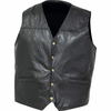 Giovanni Navarre  Italian Stone  Design Genuine Leather Concealed Carry Vest
