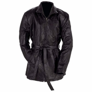 Giovanni Navarre® Italian Stone™ Design Ladies' Genuine Leather Jacket