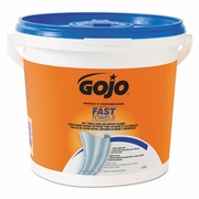 GoJo Fast Wipes  Towels 130-count Bucket  4/case