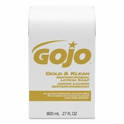 GoJo  Gold & Klean Antimicrobial  Lotion Soap 800ml