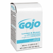 GoJo  Lather & Klean Hair & Body Shampoo 800ml