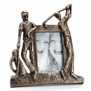 Golfer Pair Picture Frame  for 4x7 photo