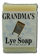 Grandma's Lye Soap 6.5oz Bar