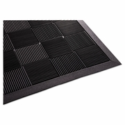 Guardian Parquet Wiper Scraper Mat, 24 x 36, Black  FREE SHIPPING