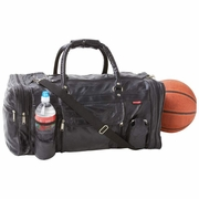 Gym Bag Patchwork  Leather Design  23""