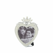 Heart and Crown Photo Frame  3 x 3