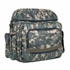 HERITAGE ARTS  Traveler Artist Backpack  CAMOUFLAGE GREEN