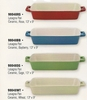 "HIC Lasagna Pan with Handles Porcelain  13"" x 9"""