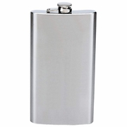 Hip Flask Stainless Steel   12oz